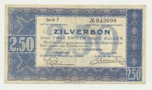 25guildersilverbon19381letter1.1