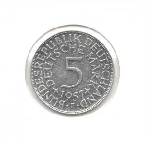 德國5mark1957F.jpg