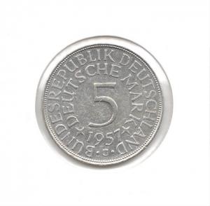 德國5mark1957J.jpg
