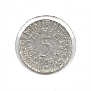 德國5mark1958F.jpg