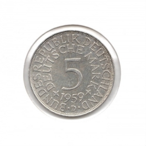 德國5mark1959D.jpg
