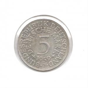 德國5mark1959J.jpg