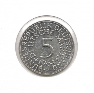 德國5mark1964J.jpg