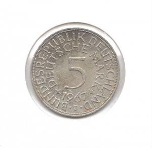 德國5mark1967J.jpg