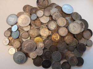 Kilo hõbe- ja Wilhelmina mündid 1.6