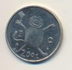 Paesi Bassi-1-Gulden-2001-Misslag-vz.jpg