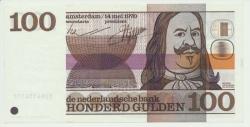 Paesi Bassi-100-Gulden-1970-Michiel-de-Ruyter-UNC - vz6.jpg