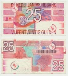 Paesi Bassi-25-Gulden-1989-Robin-Very-Fine-vz-en-az4.jpg
