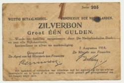 Països Baixos1gulden1914zilverbonmisdruk.jpg