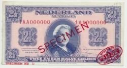 Països Baixos2,5gulden1945Wilhelminaspecimen.jpg