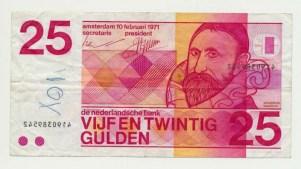Països Baixos25GuldenSweelinckMisdrukvz