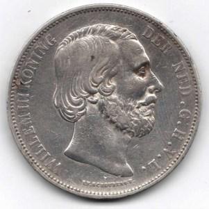 Països Baixos25gulden1871vz