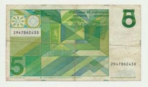 Països Baixos5Gulden1973Misdrukaz