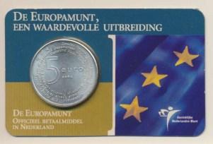 Países Baixos5euroeuropamuntcoincardvz