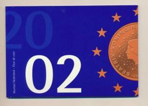 Holanda ano fixado2002euro