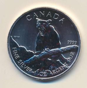 加拿大1oz2012